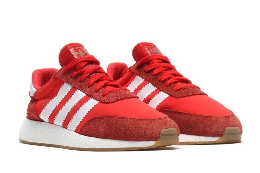 Кроссовки Adidas Iniki Runner красные