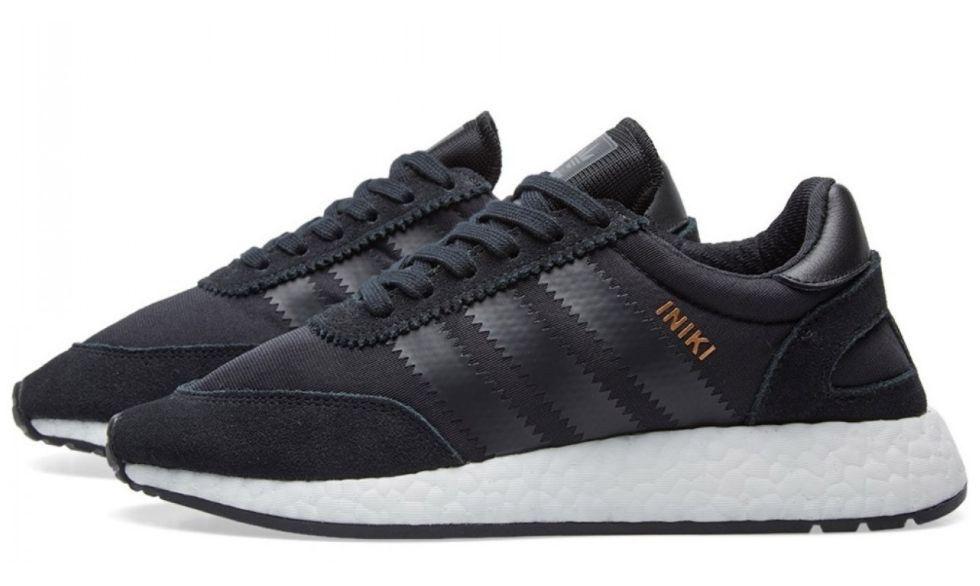 Кроссовки Adidas Iniki Runner черные
