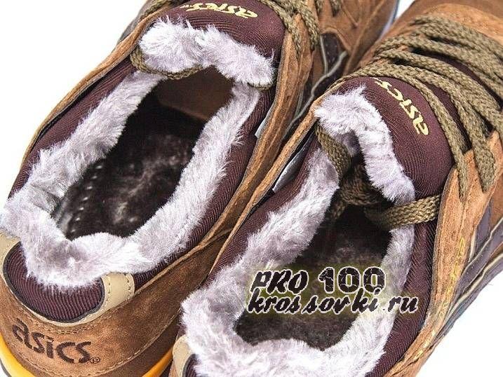 Зимние кроссовки на меху Асикс