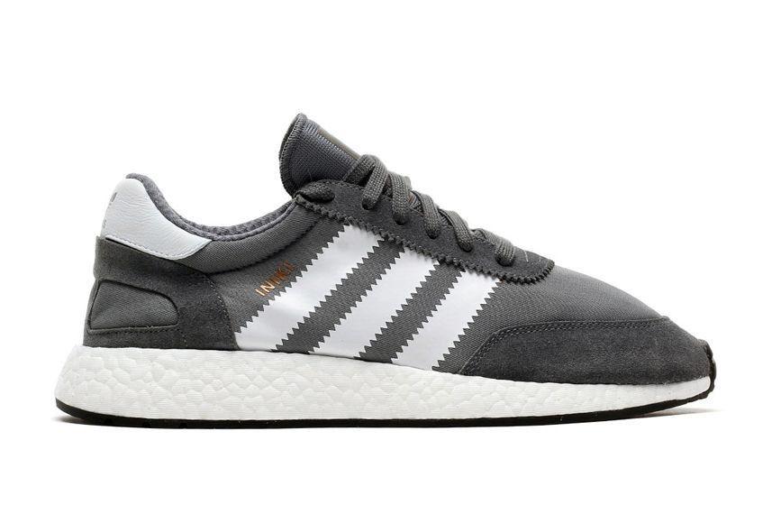 Кроссовки Adidas Iniki Runner серые