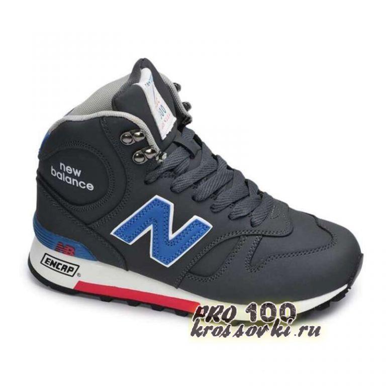 Высокие кроссовки New Balance 1300 Black-Blue