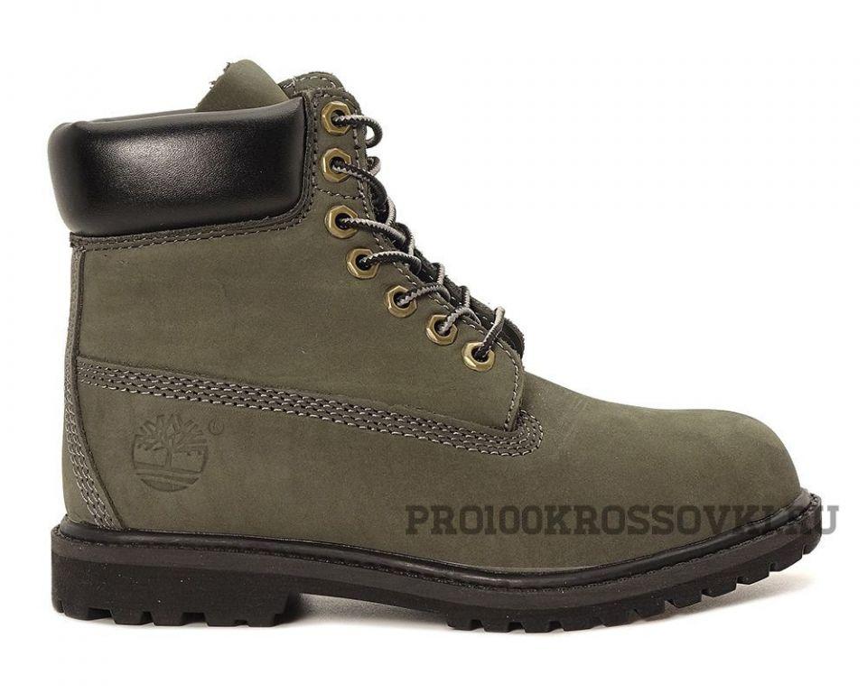 Timberland 6 Inch Premium Waterproof Boots (OliveCamo Green)