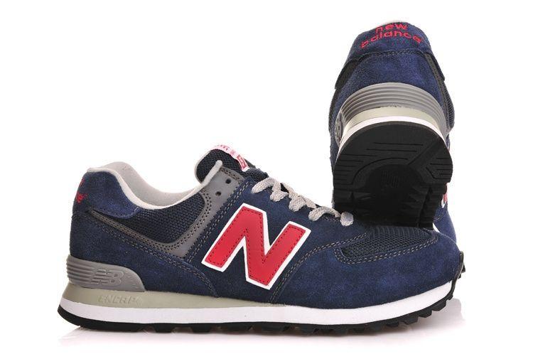 кроссовки New Balance 574 темно-синие