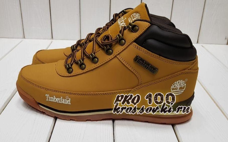 Timberland Euro Hiker желтые