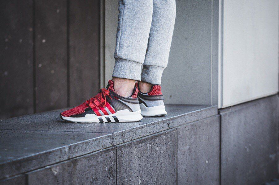 "кроссовки Adidas EQT Support ""ADV"" (Collegiate Red/White)"