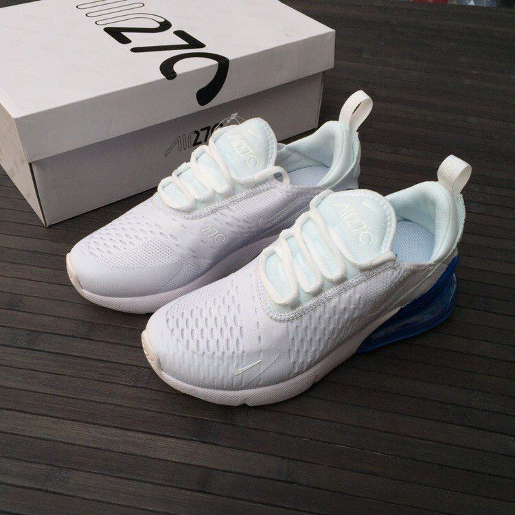 кроссовки Nike Air Max 270 White Blue