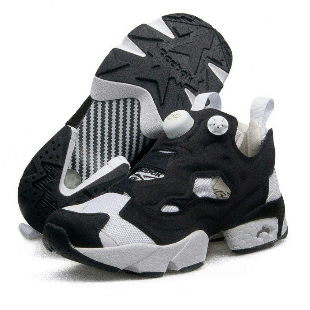 08e8eaf1f6ce ... Reebok Instapump Fury (white black) ...