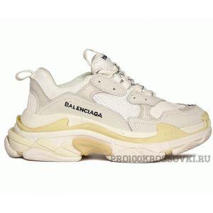 Кроссовки Balenciaga Triple S белые