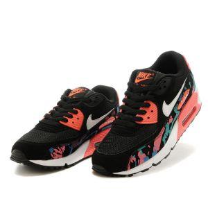 Nike Air Max 90 женские (многоцв/черные)