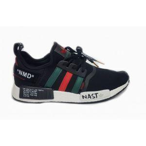 Кроссовки Adidas NMD_R1 Primeknit Nast Black