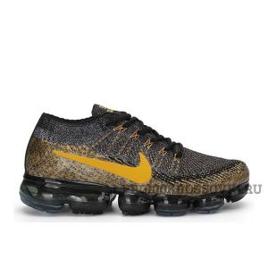 Nike Air Vapormax Flyknit (Brown/Gold)