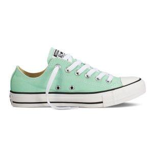 Кеды Converse низкие (зеленые)
