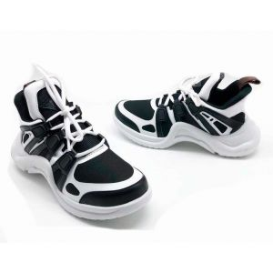Женские кроссовки Louis Vuitton Archlight Sneaker Black-White