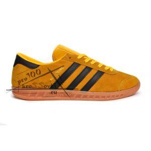 Adidas Hamburg Originals желтые