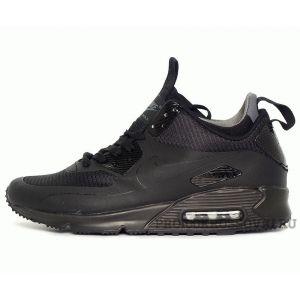 Кроссовки Nike Air Max 90 Mid Winter Black