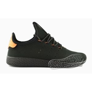 Кроссовки Adidas x Pharrell Williams Tennis Hu Primeknit Black/Orange