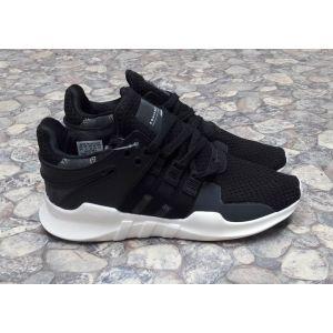 Женские кроссовки Adidas Eqt черные с белым