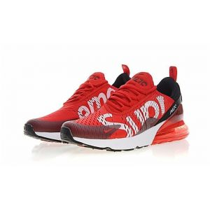 Кроссовки Supreme x Nike Air Max 270 Red