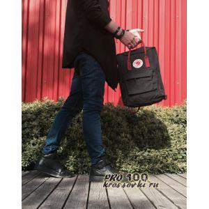 Рюкзак Fjallraven Kanken Classic Black/OX RED
