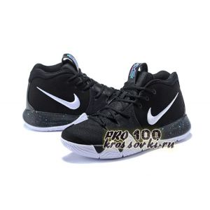 2018 Nike Kyrie 4 Black White Anthracite Light Racer Blue