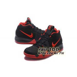 Высокие кроссовки Nike Kyrie 4 Black Red Basketball Shoes