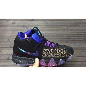 Кроссовки баскетбольные Nike Kyrie 4 Black Blue