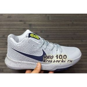 Кроссовки Nike Kyrie 3 White Blue