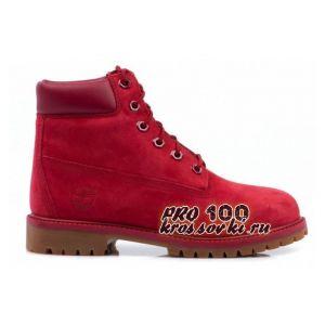 Женские Timberland 6 Inch Premium Waterproof Boots красные