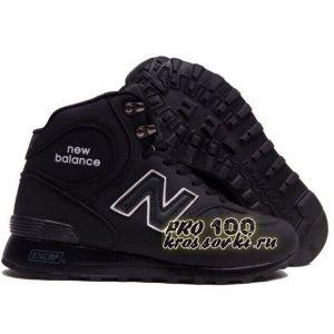 Высокие черные кроссовки New Balance 1300