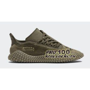 Кроссовки Adidas Kamanda x Neighborhood коричневые
