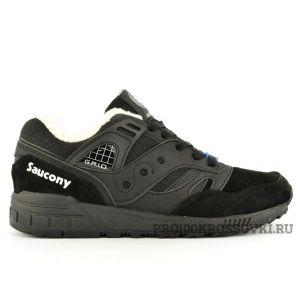 Мужские кроссовки на меху Saukony Grid 2000 Black