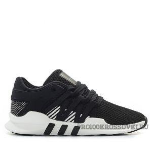 Мужские кроссовки Adidas EQT Support ADV (Black Stripes)