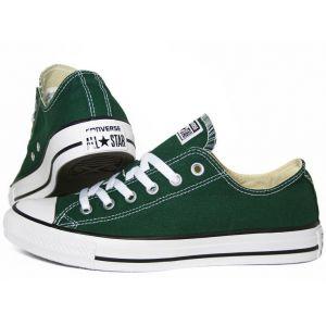 Converse зеленые кеды