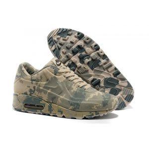 кроссовки Nike Air Max 1 VT Military Camouflage (Green/Yellow)