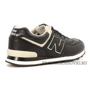 Мужские кожаные кроссовки New Balance 574 Leather ML574LUC