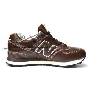кроссовки New Balance 574 темно-коричневые