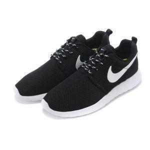 кроссовки Nike Roshe Run black мужские