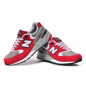 Кроссовки New Balance 999 (Red/Grey)