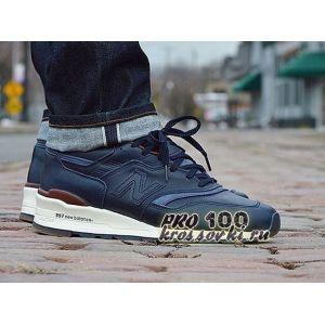 кроссовки New Balance 997 кожаные синие