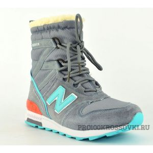 New Balance Snow Boots Women (Grey/Light Blue)