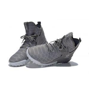 кроссовки Adidas Tubular High серые