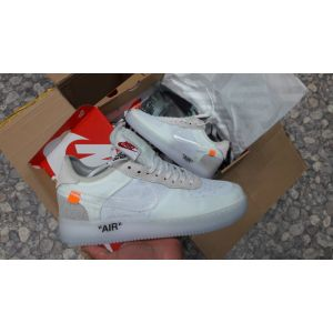 кроссовки OFF-WHITE x Nike Force