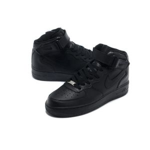 кроссовки Nike Air Force 1 Mid '07 High Women (all black)