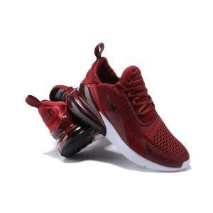 Кроссовки Nike Air Max 270 бордовые