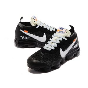 кроссовки OFF-White Nike Vapormax Black-White