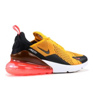 Кроссовки Nike Air Max 270 University Gold Black Orange