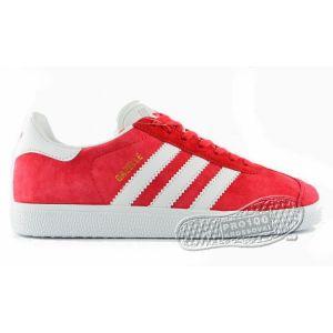 Женские кроссовки Adidas Gazelle красные