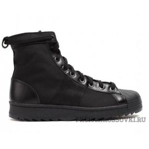 Мужские кроссовки Adidas Superstar Jungle Boots (Black)