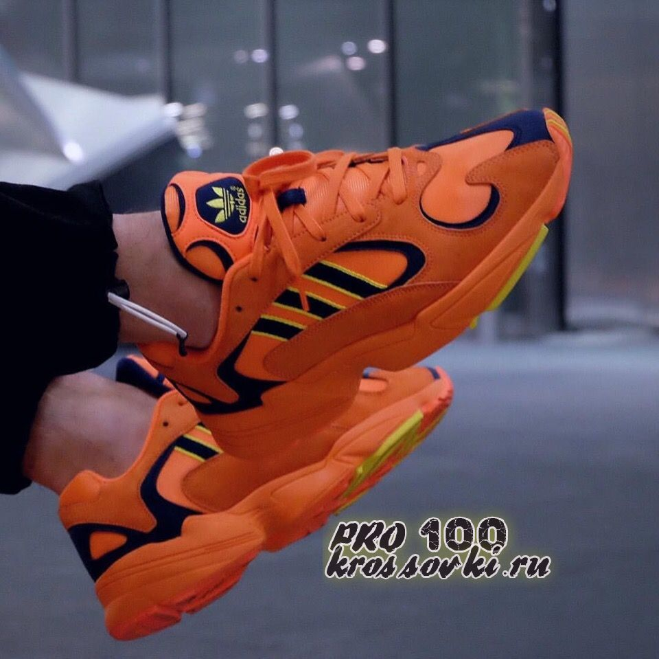 """мужские кроссовки Adidas Yung-1 """"Goku"""""""