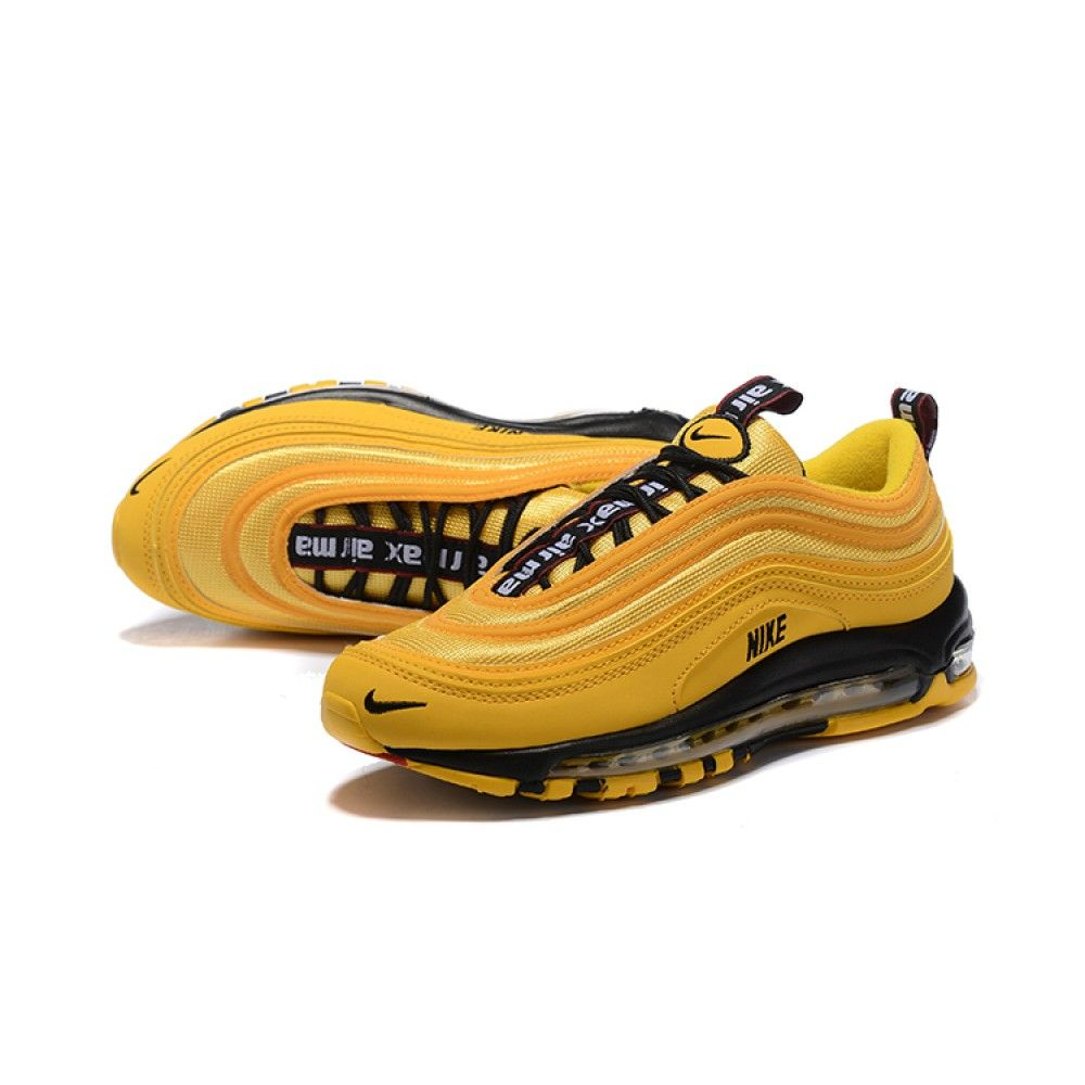 Кроссовки Nike Air Max 97 Overbrending Taxi Yellow